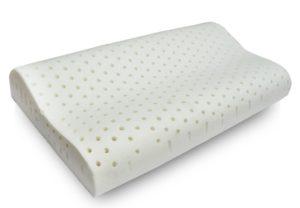 Cuscino 100% Lattice a Doppia Onda per la cervicale con in tessuto aloe sfoderabile