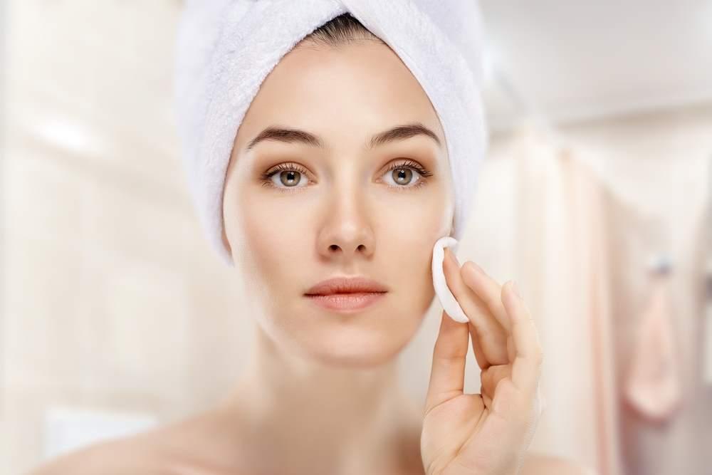 tecniche per la cura del viso